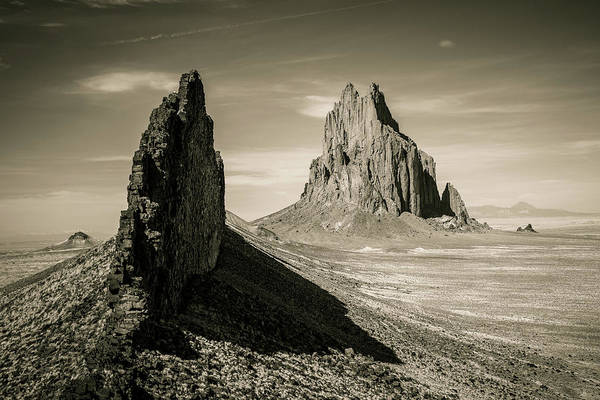 Photograph - Shiprock by Whit Richardson