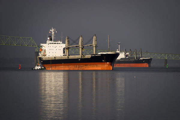 Photograph - Ships At Anchor by Robert Potts