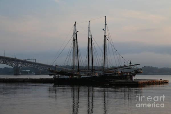 Lara Morrison - Ships at Dock in the Morning