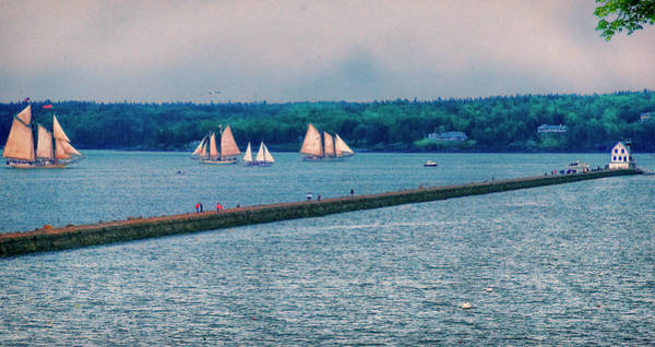 Photograph - Ships By The Samoset by Tom Singleton