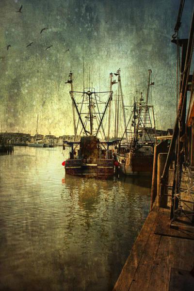 Ships Docked Art Print