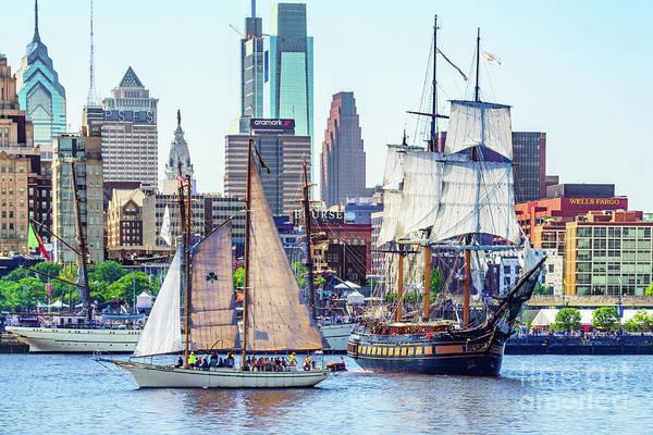 Photograph - Ships In Philadelphia by Nick Zelinsky
