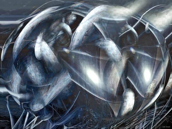 Wall Art - Digital Art - Ships Of Orion by Linda Sannuti