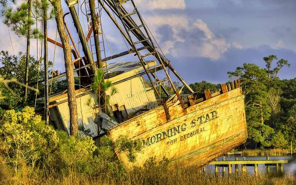 Photograph - Shipwreck Of The Morning Star by JC Findley