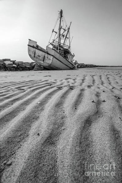 Photograph - Shipwreck Provincetown by Edward Fielding