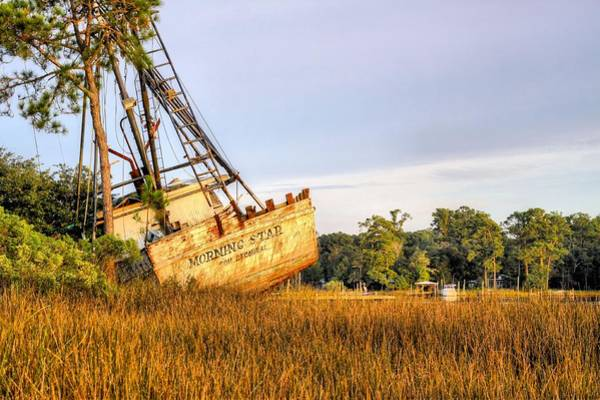 Photograph - Shipwrecked In Bon Secour by JC Findley