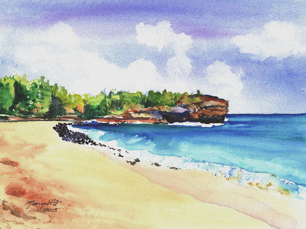 Painting - Shipwreck's Beach 2 by Marionette Taboniar