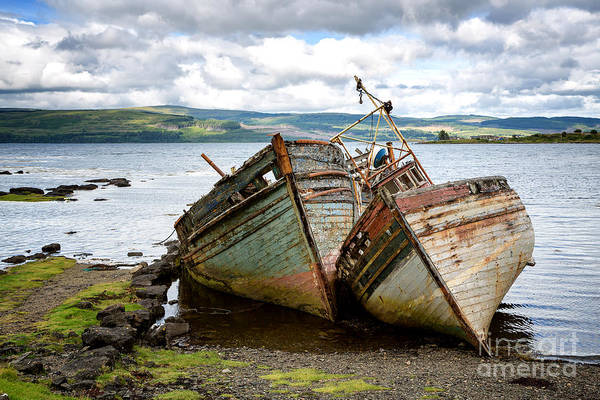 Wall Art - Photograph - Shipwrecks by Jane Rix