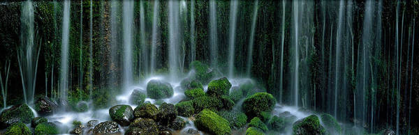 Plunge Photograph - Shiraito Falls Japan by Panoramic Images