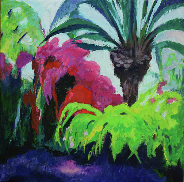 Painting - Shirley's Garden by Jillian Goldberg