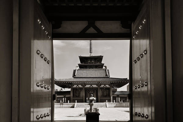 Photograph - Shitennoji Temple by Songquan Deng