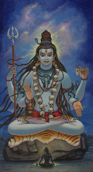 Wall Art - Painting - Shiva Darshan by Vrindavan Das