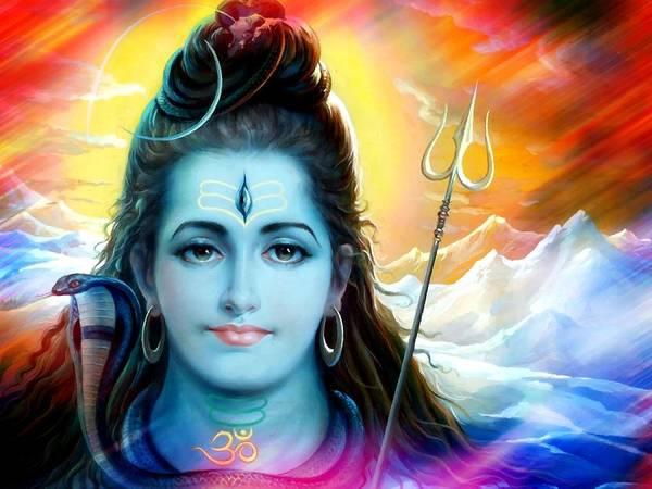 Temple Mixed Media - Shiva Himalayas by Khalil Art