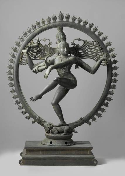 Hindu Goddess Wall Art - Photograph - Shiva by Indian School