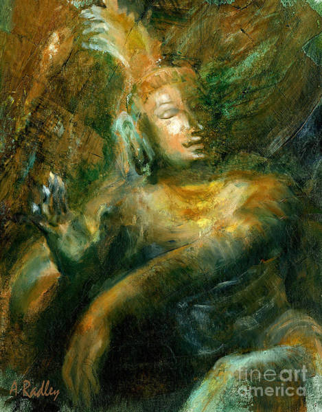 Bronze Painting - Shiva Lord Of The Dance by Ann Radley