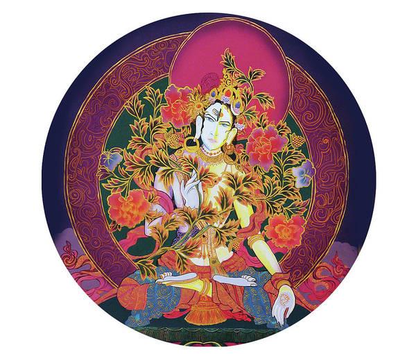 Painting - Shiva Shakti Yin And Yang by Guruji Aruneshvar Paris Art Curator Katrin Suter