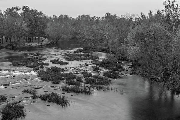 Mill Shoals Falls Wall Art - Photograph - Shoal Creek In Joplin, Missouri by Michael Munster