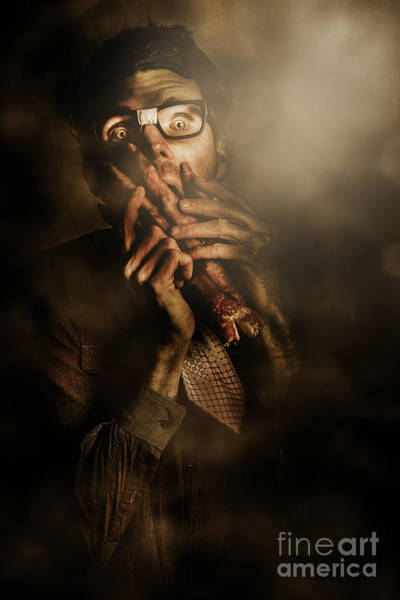 Cosplay Photograph - Shock Of Terror On Fright Night  by Jorgo Photography - Wall Art Gallery