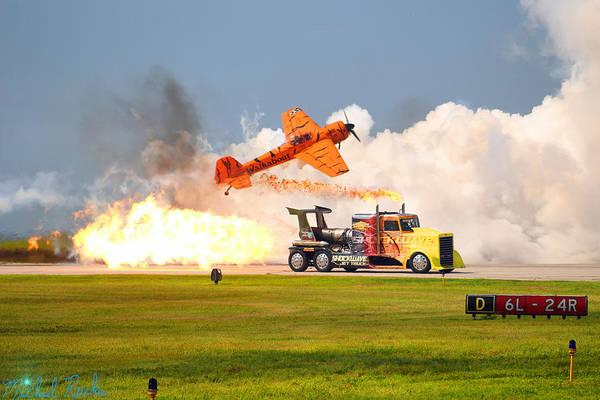Wall Art - Photograph - Jet Truck by Michael Rucker