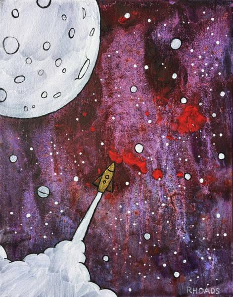 Painting - Shoot For The Stars by Nathan Rhoads