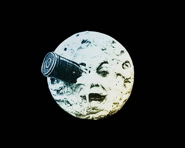 Jules Verne Wall Art - Photograph - Shoot The Moon by Bill Cannon
