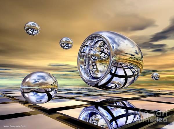 Digital Art - Shooting Hoops by Sandra Bauser Digital Art