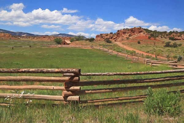 Wall Art - Photograph - Shooting Star Ranch by Donna Kennedy