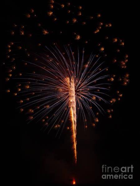 Photograph - Shopiere Days Fireworks by Viviana  Nadowski