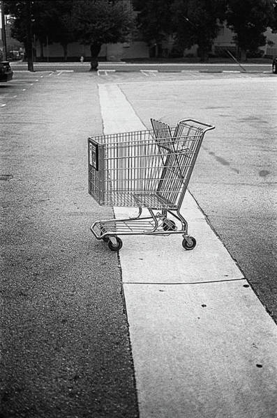 Wall Art - Photograph - Shopping Cart by YoPedro
