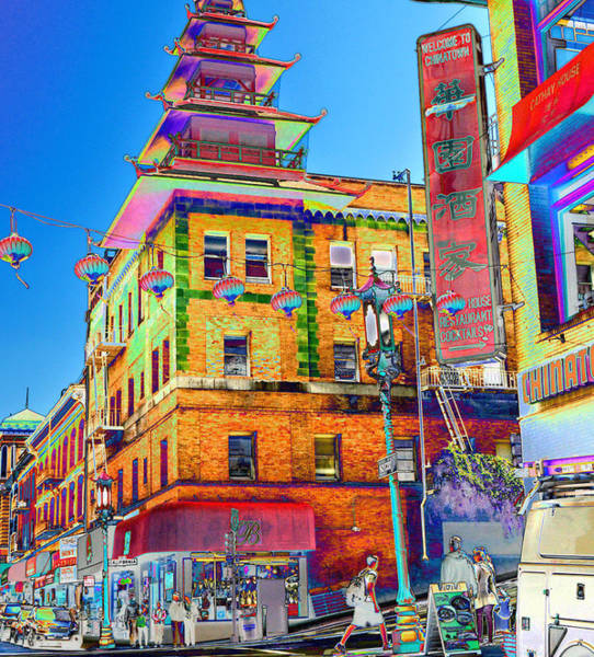 Photograph - Shopping China Town by Tom Kelly