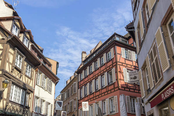 Wall Art - Photograph - Shopping District In Strasbourg France by Teresa Mucha