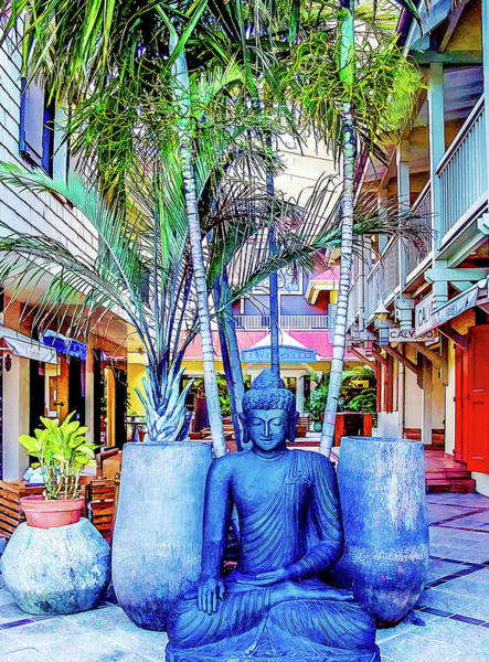Photograph - Shopping In St. Barts by Julie Palencia