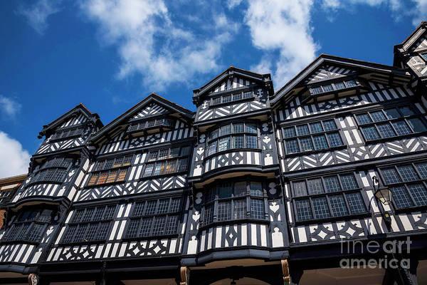 Photograph - Shopping In Tudor Splendour by Brenda Kean