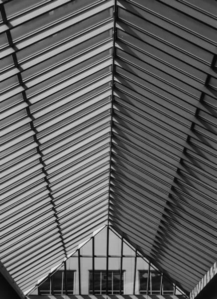 Wall Art - Photograph - Shopping Mall Roof by Robert Ullmann
