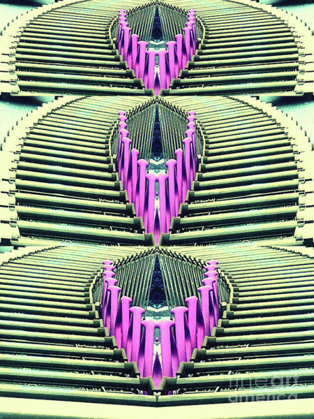 Digital Art - Shopping Queen by Eva-Maria Di Bella