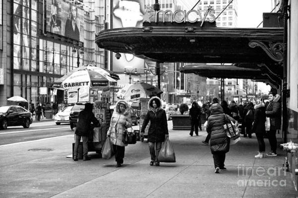 Photograph - Shopping With Mom by John Rizzuto