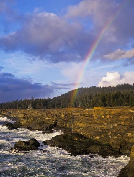 Photograph - Shore Acres Rainbow by Robert Potts