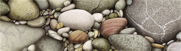 Painting - Shore Stones by JQ Licensing