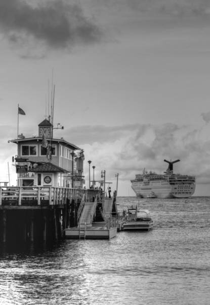 Photograph - Shore To Ship by Bill Hamilton