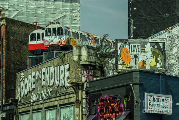 Wall Art - Photograph - Shoreditch Tubes  by Rob Hawkins