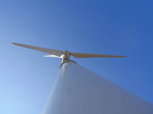 Photograph - Shoreham Wind Power by Richard Reeve