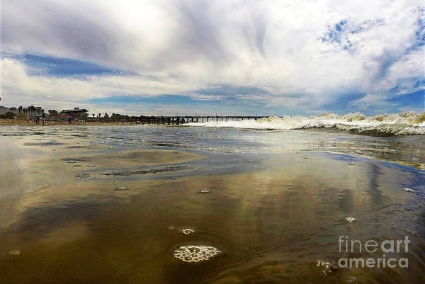 Ventura Photograph - Shoreline by Dan Holm