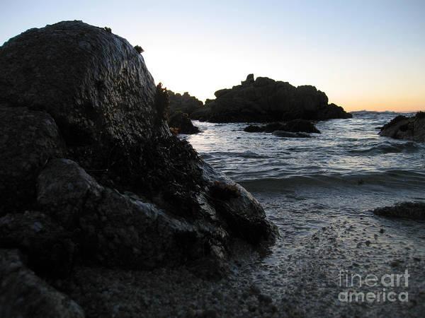 Photograph - Shoreline Monolith Color by James B Toy