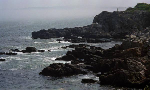 Photograph - Shoreline - Portland, Maine by Frank Romeo