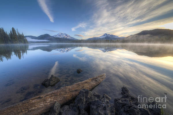 Scenic Byway Photograph - Shoreline Remnants At Sparks Lake by Twenty Two North Photography