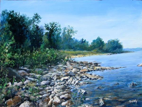 Painting - Shoreline by William Brody