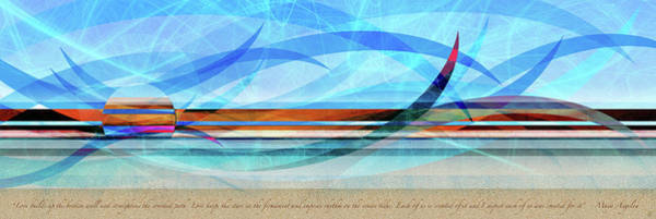 Digital Art - Shorelines by Kenneth Armand Johnson