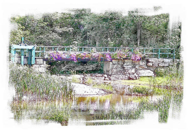 Wall Art - Photograph - Shorey Park Bridge I by Rose Guay
