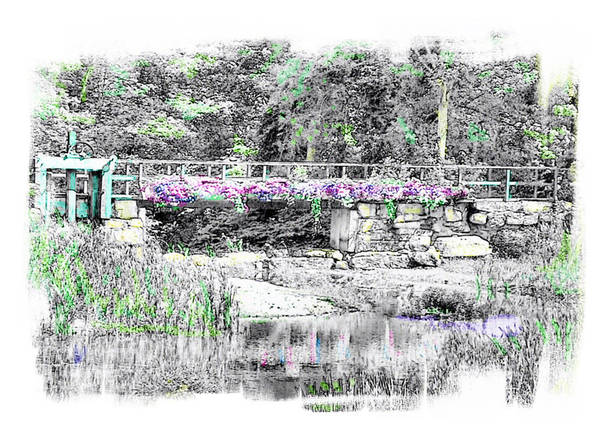 Wall Art - Photograph - Shorey Park Bridge II by Rose Guay