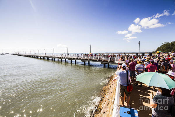 Photograph - Shorncliffe Pier Re-opening 2016 by Jorgo Photography - Wall Art Gallery
